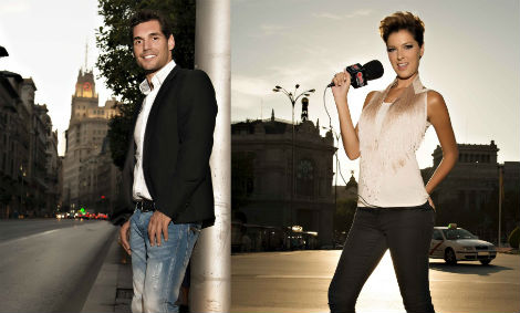 Josep Lobató y Cristina Urgel, director y subdirectora de Happy FM. Foto: Javier Burgos.