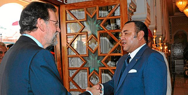Rajoy y Mohamed VI. | Reuters/Maghreb Arabe Presse