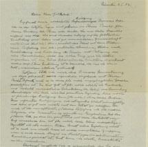 La carta de Albert Einstein