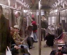 Metro de Nueva York. | Ap