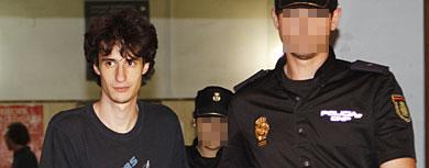 El joven detenido que quería imitar la masacre de Columbine.   Jordi Avellà
