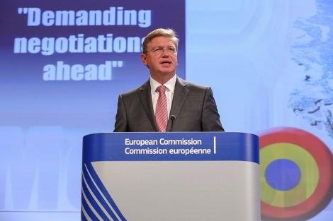 El comisario de Ampliación, el checo Stefan Füle, habla sobre adhesiones a la UE. | Efe
