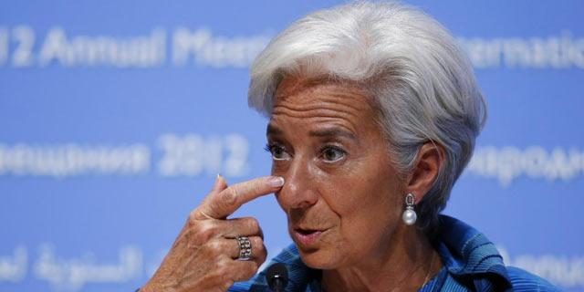 La directora gerente del FMI, Christine Lagarde, en la cumbre de Tokio.   Reuters