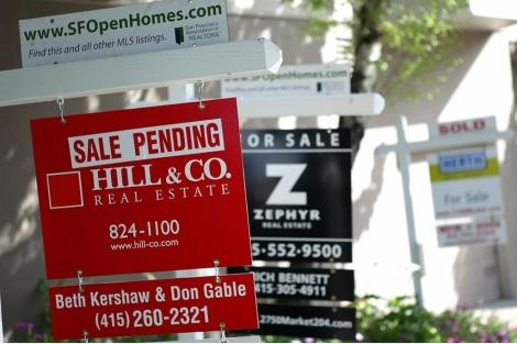 Alta actividad en el mercado inmobiliario estadounidense. | Afp