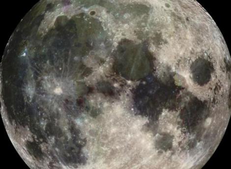 Imagen de la Luna tomada por la sonda Galileo. | NASA