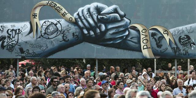 Cientos de personas han protestado contra el Gobierno portugués en las últimas semanas. | Efe