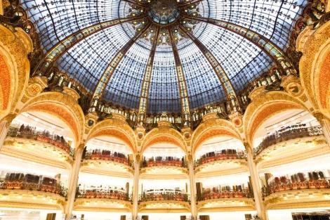 La cúpula de las Galerías Lafayette, en su centenario. | Thibaut Voisin