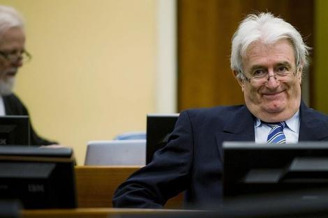 Radovan Karadzic, en el juicio en La Haya.| Reuters