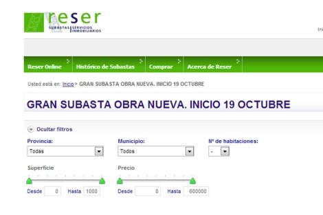 Reser ofrece subastas on-line de inmuebles propiedad de Bankia.   EM