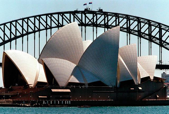 Vista de la Opera de Sidney. | Afp