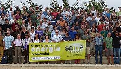 Reunión de la cooperativa en Calafell. | Som Energia