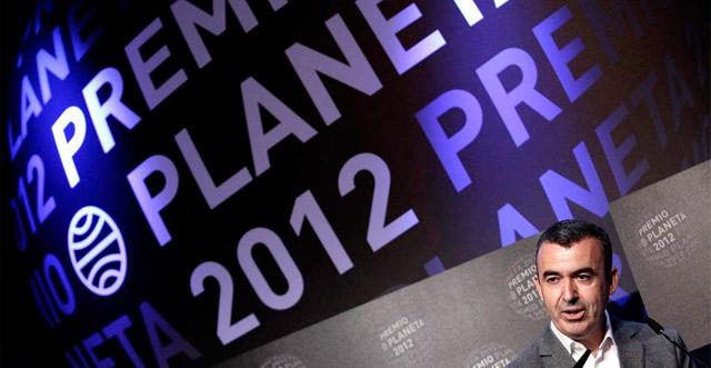 Lorenzo Silva, ganador del Premio Planeta por 'La marca del meridiano'. | Efe