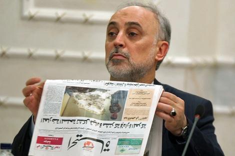 El ministro iraní de Exteriroes, Ali Akbar Salehi. | Afp