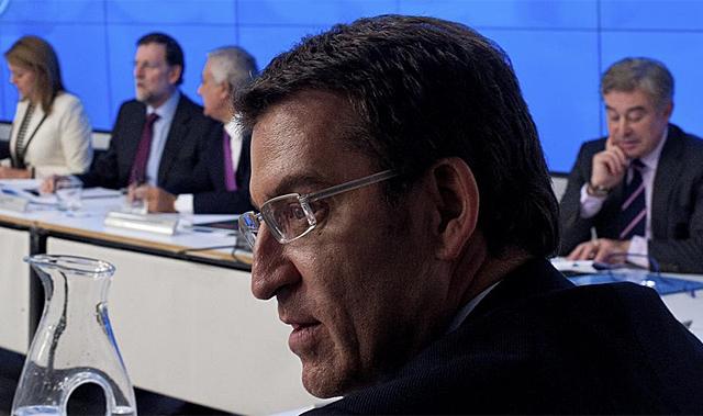 Alberto Núñez Feijóo. | Gonzalo Arroyo