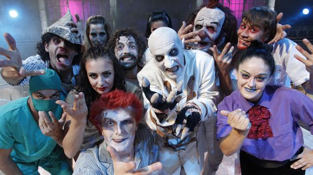 El terrorífico equipo de 'Manicomio'. | Sergio Gonzalez