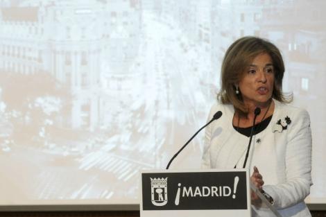 La alcaldesa de Madrid, Ana Botella. | Efe