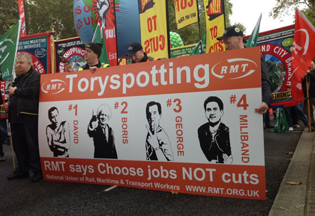 magen de la marcha en Londres.   Foto: C.F.