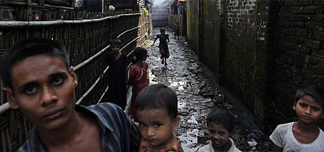 Rohingya, en Aung Mingalar.| VEA MÁS FOTOS