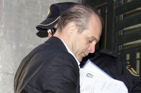 'El Franky', este lunes, en el juicio celebrado en Alicante. | Efe