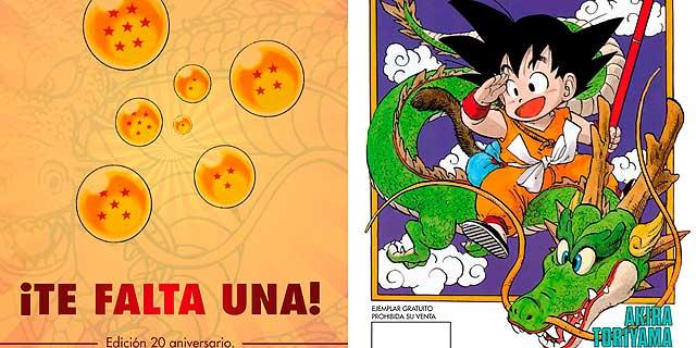 Facsímil 20º aniversario. | Dragon Ball © 1984 by Akira Toriyama | Shueisha Inc. MÁS IMÁGENES