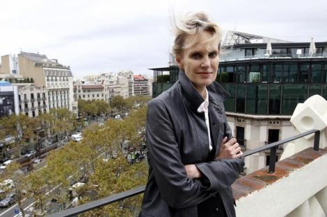 Siri Hustvedt, en Barcelona, en 2011. | Domènec Umbert