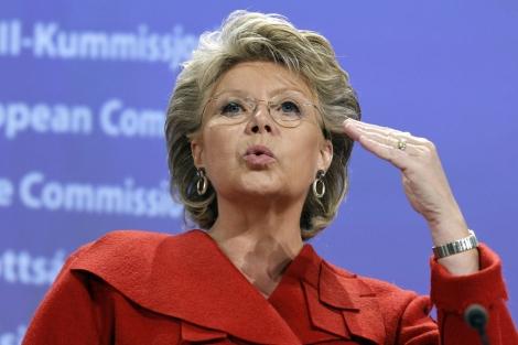 Viviane Reding. | Foto: Afp