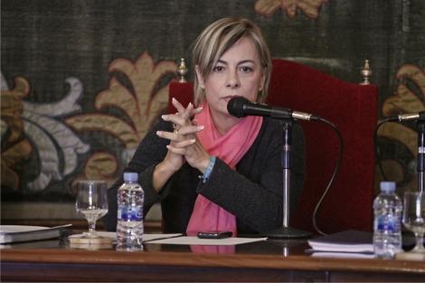 Castedo, durante el pleno municipal de este miércoles. | Roberto Pérez