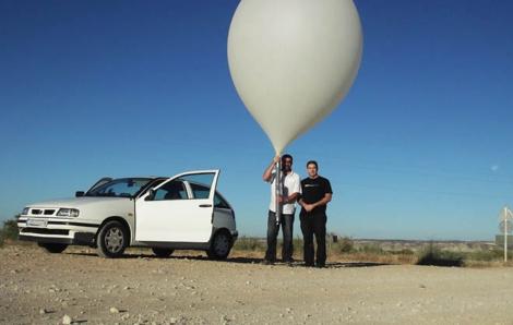 Lanzamiento del satélite. | UPC