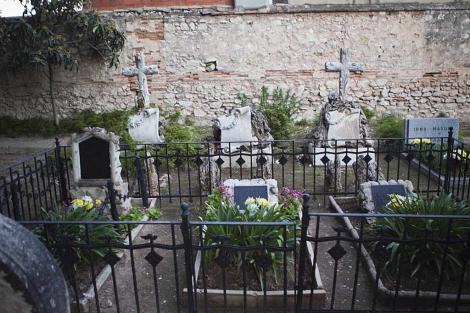 Uno de los rincones del cementerio protestante de Valencia | Vicent Bosch