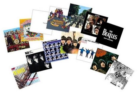 Los 14 álbumes de los Beatles .   EL MUNDO.es