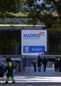 Policía en el Madrid Arena.   Efe