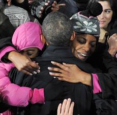 Obama, en Virginia. | Afp
