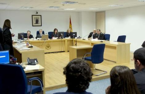 Vista general de la sala de lo Social de la Audiencia Nacional. | Chema Moya.