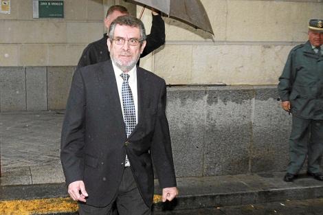 Antonio Rivas, tras conocer el veredicto del jurado. | C. Márquez