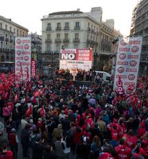Huelga de 2012. | A. Cuéllar