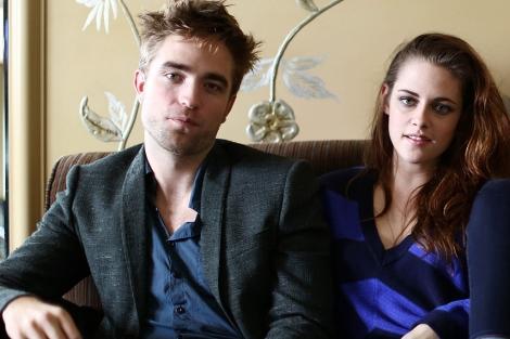 Los actores, durante la promoción de la última entrega de 'Crepúsculo'. | G3