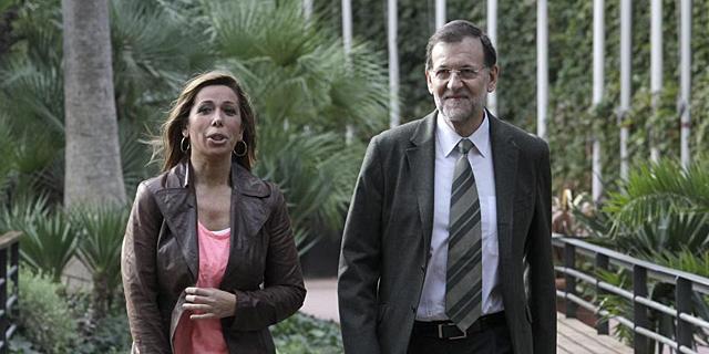 Alicia Sánchez-Camacho y Mariano Rajoy, | A. Moreno