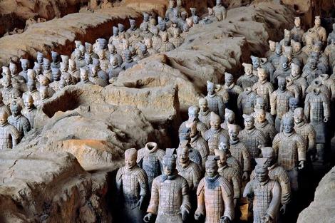 Los guerreros de Xian.| Xia Juxian