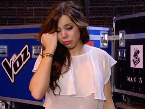 Sharay llora desolada tras ser expulsada del concurso. | Telecinco