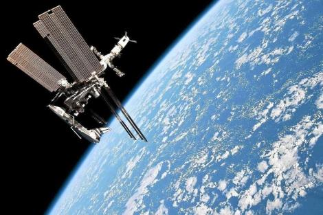 Vista de la Estación Espacial Internacional (ISS).