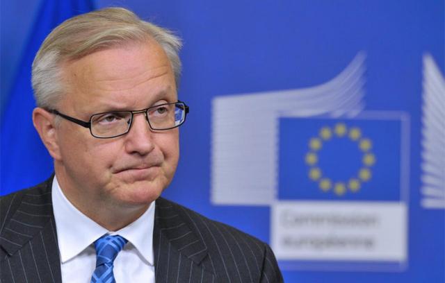El vicepresidente económico de la Comisión Europea, Olli Rehn. | Afp