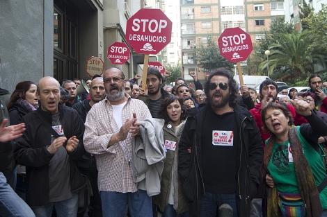 Concentración en Badalona. | Foto: Jordi Soteras