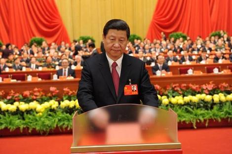 Xi Jinping, durante su discurso ante el Congreso de su partido. | Reuters