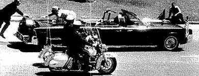 Asesinato de John Fitzgerald Kennedy en Dallas.