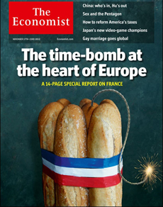 La portada de 'The Economist'