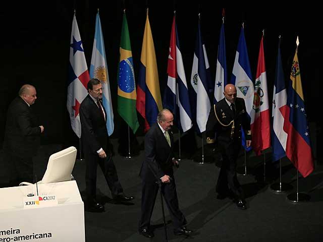 Ceremonia de inauguración de la cumbre. MÁS FOTOS