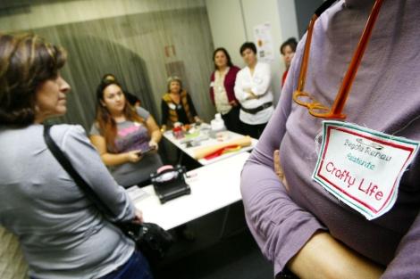 Demostraciones Art&Craft en las jornadas celebradas en Alicante. | Manuel Lorenzo