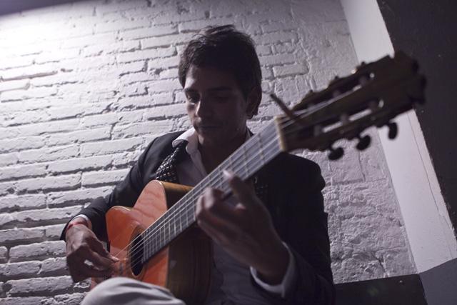 El guitarrista granadino Juan Torres Fajardo, nieto de la saga de los 'Habichuela'. | Vicent Bosch