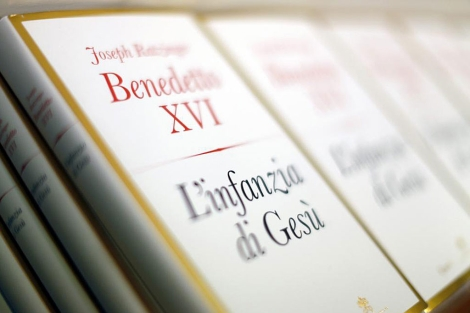 La última publicación de Benedicto XVI.   Reuters