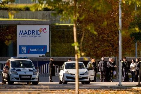 Imagen del exterior del Madrid Arena.   Arroyo